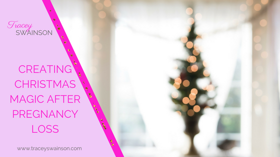 If your still in pain after having lost a pregnancy, this time of year can be particularly lonely. You feel empty inside and the joy of others might make you want to crawl under the covers until the New Year.