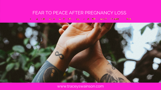 I had a beautiful conversation with a client, speaking of her fear of death since having had several miscarriages. It brought back the memory of my own fears that I once struggled with.